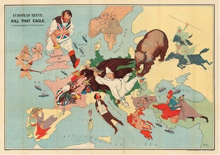 World War i propaganda maps