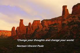 Change your Thoughts - quote by Norman Vincent Peale