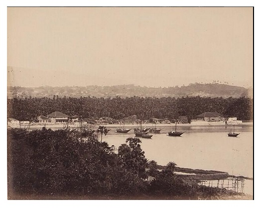 Mumbai Backbay Malabar Hill 1860