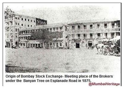 Mumbai- Bombay Stock Exchange 1875