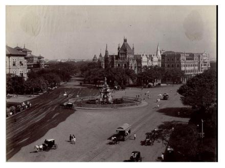 Mumbai Flora Fountain 1890
