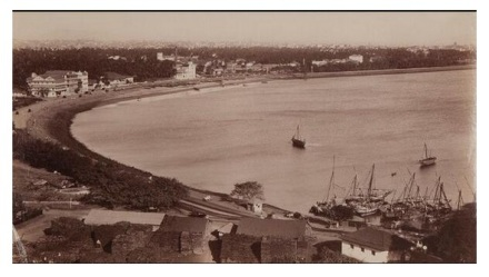 Mumbai Marine Drive 1870