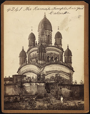 Dakshineswar Temple Calcutta - Mid 19th century