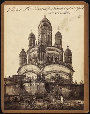 Dakshineswar Temple Calcutta - Mid 19th century