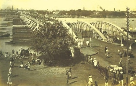 Sir Leslie Bradford's Pontoon Bridge Hooghly