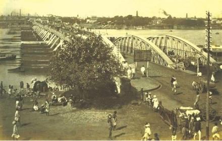 Sir Leslie Bradford's Pontoon Bridge Hooghly