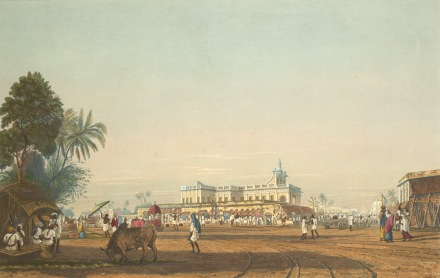 Portuguese Church, Kolkata, 1826