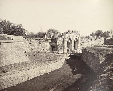 Delhi-Kashmir Gate 1860