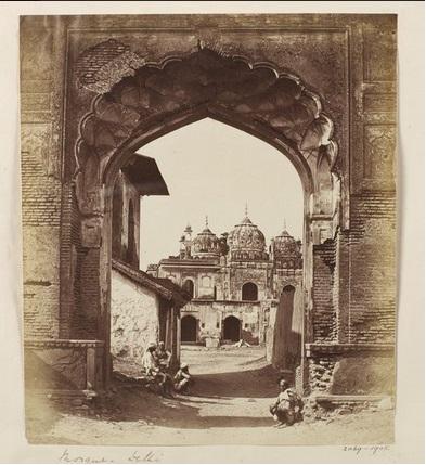 Delhi - Mosque Kashmere Gate, after Uprising