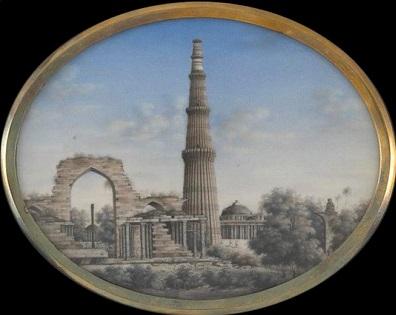 Delhi - Qutb 1850