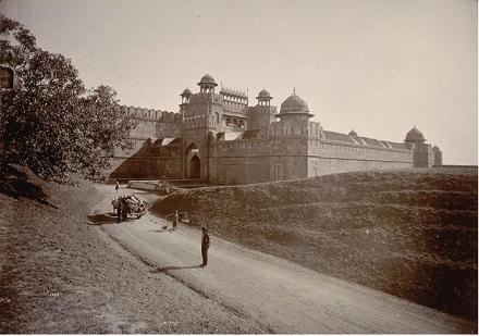 Delhi- Red Fort, after Uprising