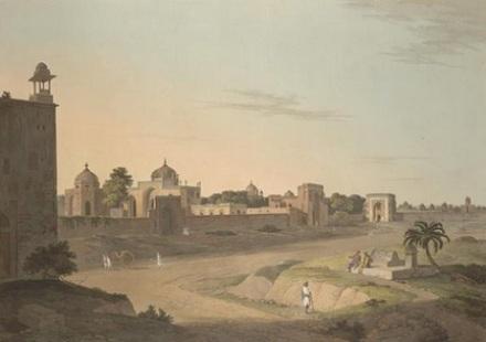 Delhi- Tomb of Humayun 1803