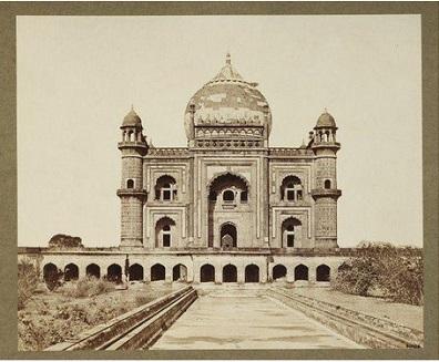 Delhi -Tomb of Safder Jung 1858-60