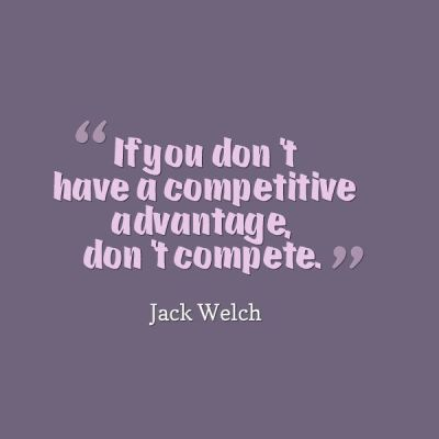 Competitive Advantage quote