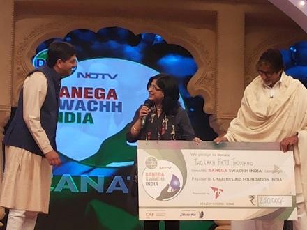 Banega Swachh India - Best Blogger Award