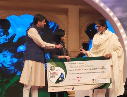 Award NDTV Cleanathon
