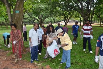 Cubbon Park cleanliness drive