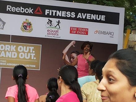 Bandra SC fest Fitness workout