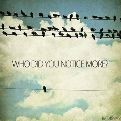 Who Did You Notice?