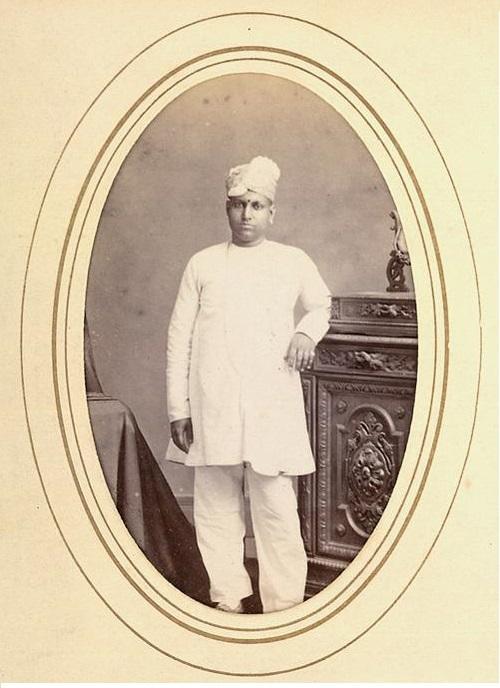 Gentleman in Madras, 1870