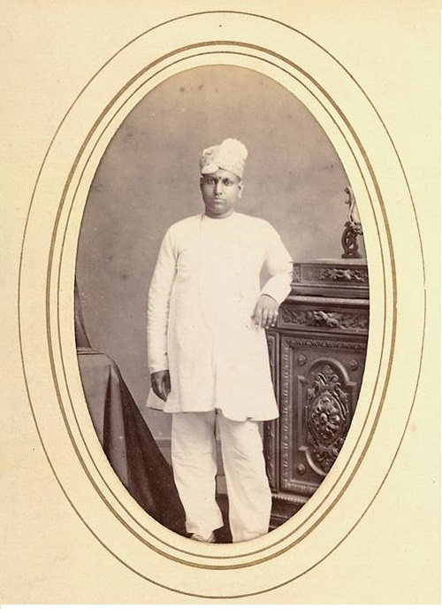 Gentleman in Madras, 1870