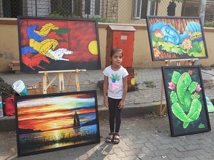 Bandra SC fest Paintings