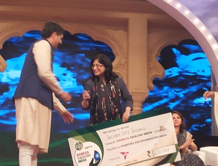NDTV Award Swachch Bharat Blog