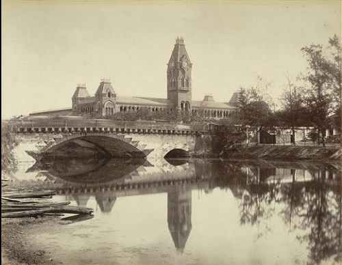 Royapuram Railway Station, Chennai, 1861