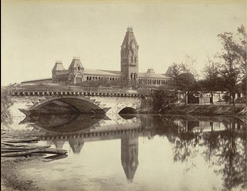 Royapuram Railway Station, Chennai, 1861