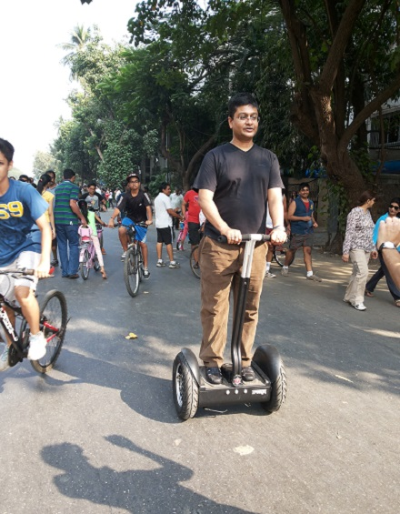 Bandra SC fest - Segway ride