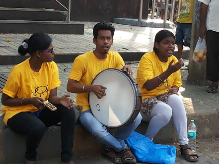 Bandra SC fest - Street artists