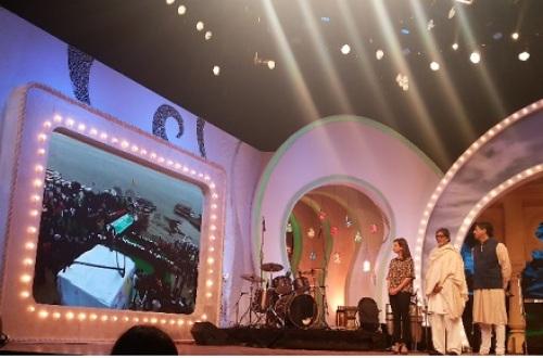Dia Mirza at NDTV Cleanathon