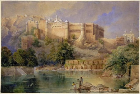 Amber Fort, ca 1860