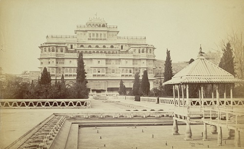Chandra Mahal, City Palace, Jaipur, 1870