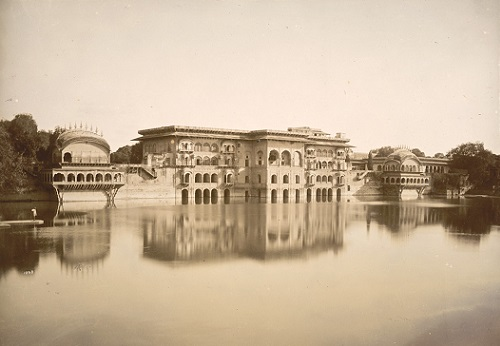 Gopal Bhavan, Water Palace, Deeg, 1885