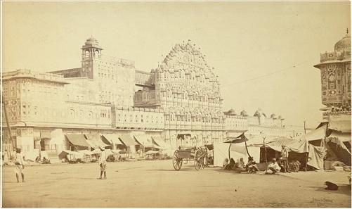 Hawa Mahal, Jaipur, 1870