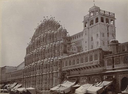 Hawa Mahal, Jaipur 1895