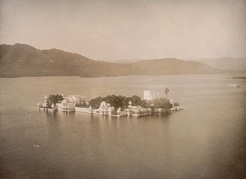 Jagmandir, Water Palace, Udaipur, 1885