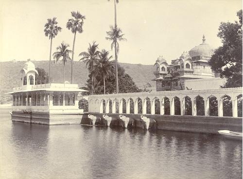 Jagmandir, Water Palace, Udaipur, 1900