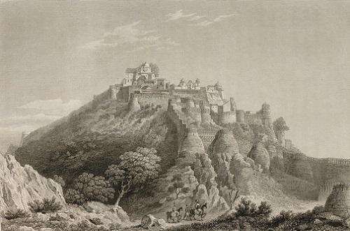 Kumbhalgarh Fort, 1829