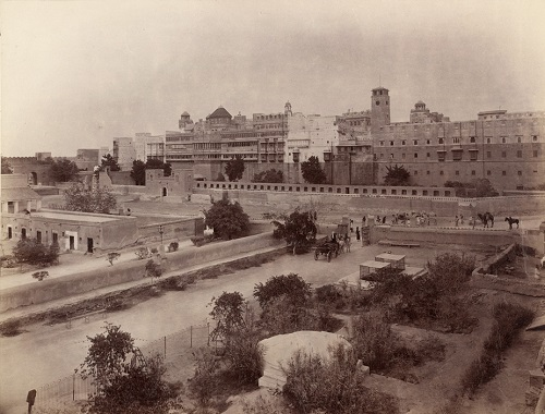 Palace at Bikaner, 1896