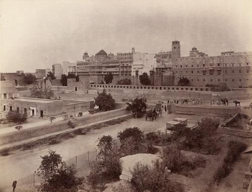 Palace at Bikaner, 1896