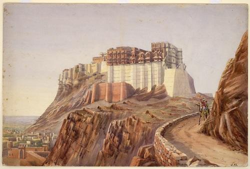 View of Jodhpur Fort, ca. 1890
