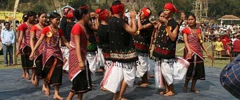 Karbi dance