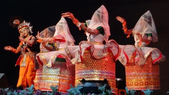 Danza Raas Leela, Manipur