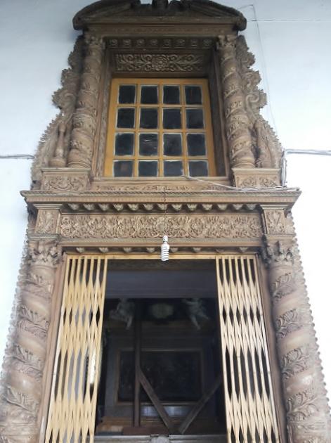 Decorated Gate - Basilica Goa