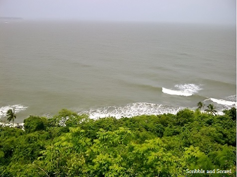 Sea view from Fort Aguada