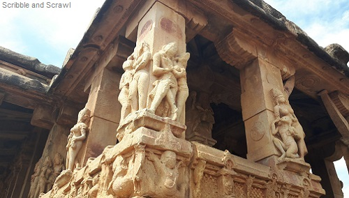 Carvings Aihole