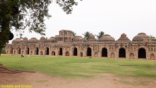 Elephant Stable, Hampi